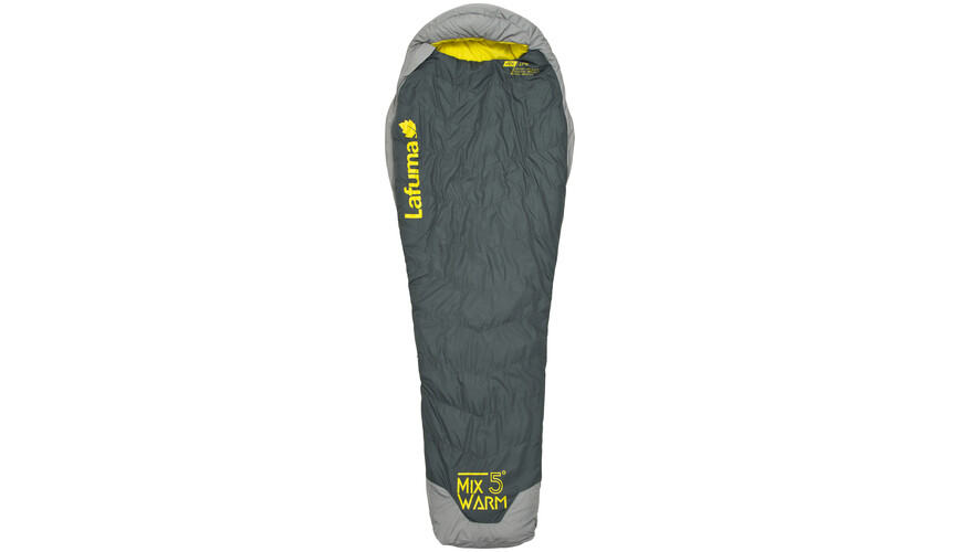 Lafuma Mix Warm 0 Sleeping Bag dark grey/orange